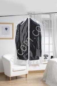Прозрачный чехол для одежды